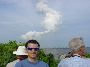 Me at STS 127 Post-Launch