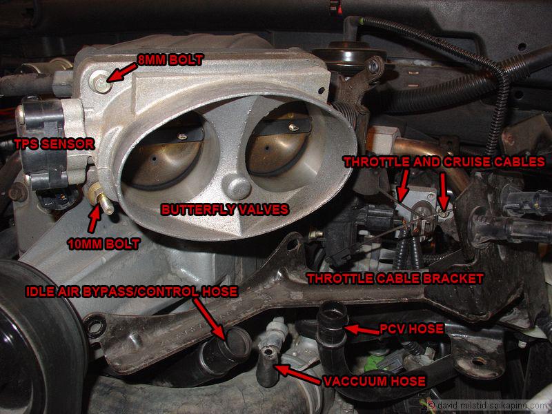 Ford Lightning Throttle Body
