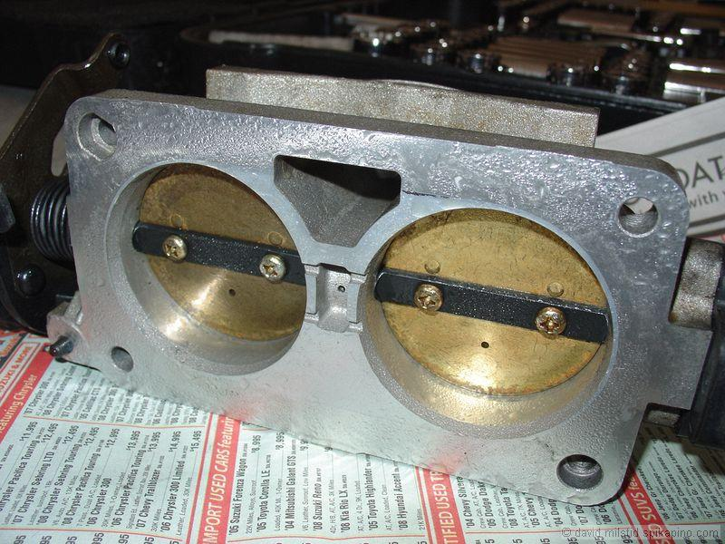How to clean your Throttle Body and Mass Air Flow sensor on
